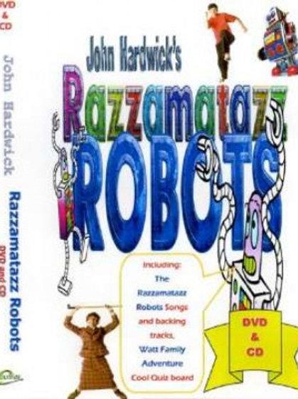 Razz Robots DVD+CD