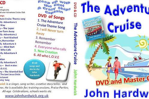The Adventure Cruise DVD plus free CD