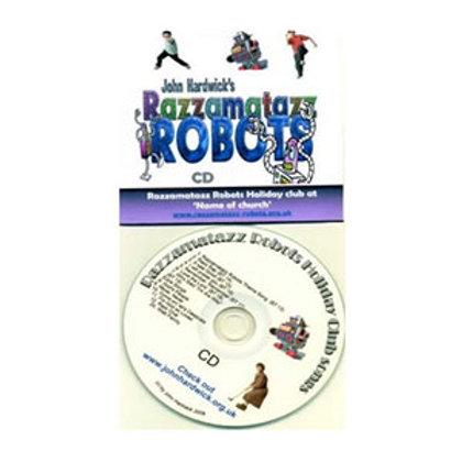 Razzamatazz Robots Master CD
