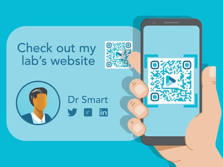 How to Add a Customised QR Code to Your Scientific Poster