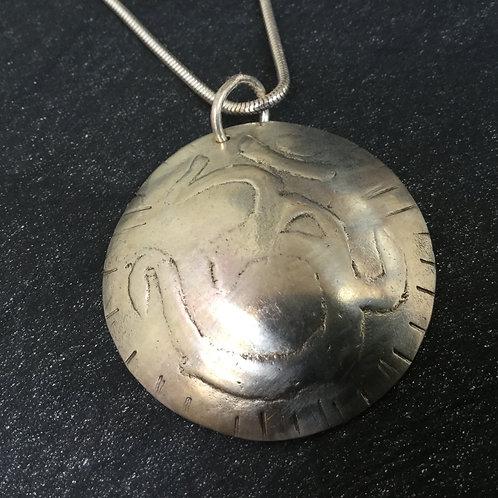 Silver Ohm Pendant