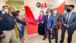 OAB-PB inaugura Sala da Advocacia e parlatório na Cadeia Pública de Monteiro