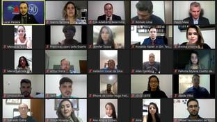 OAB-PB realiza encontro virtual de boas-vindas aos novos aprovados no Exame de Ordem