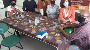 Comissão da OAB-PB visita Centro de Igualdade Racial João Balula