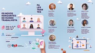 OAB-PB realizará evento sobre os novos horizontes da advocacia trabalhista; participe