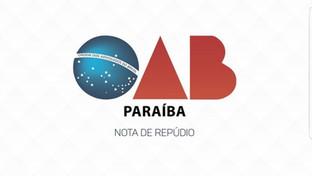 Em nota, OAB-PB repudia ataques à advogada que atua em caso de feminicídio