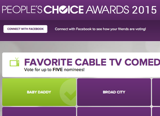 VOTE!  People's Choice Awards 2015!!