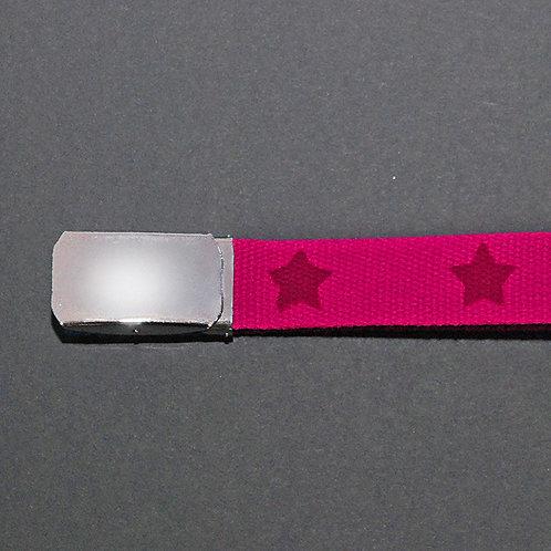 Sternen-Gurt pink