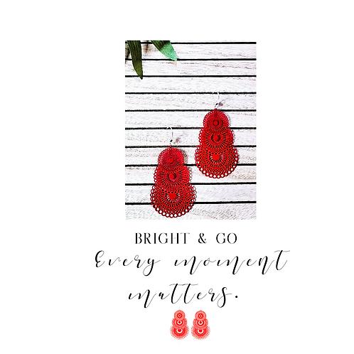 Fanfair-Bright Red