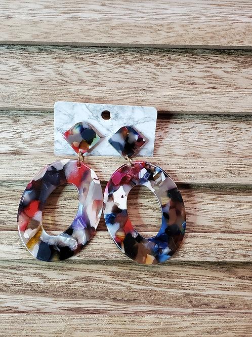 Olivia Acrylics - in Multicolor