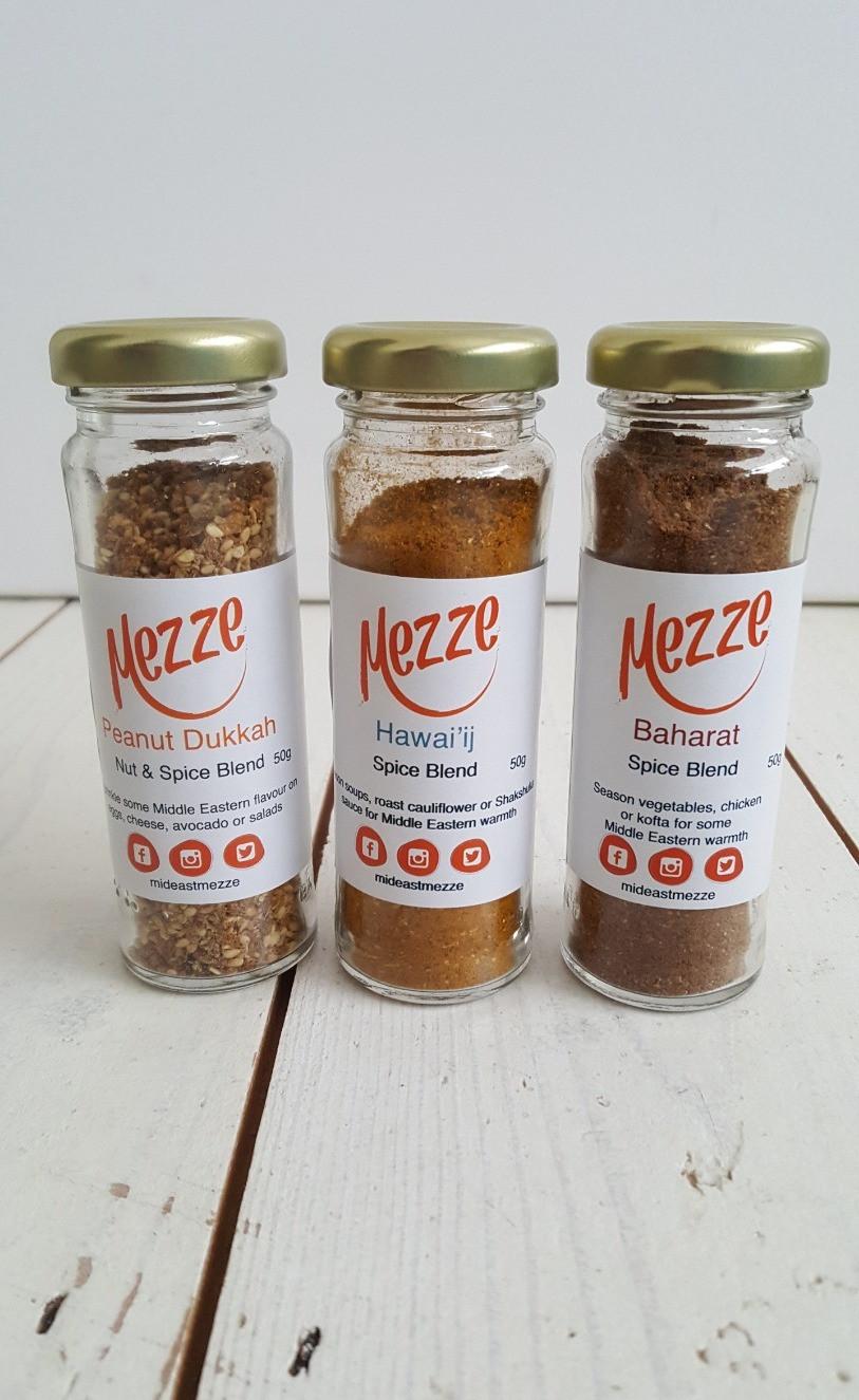 Mezze spice blends