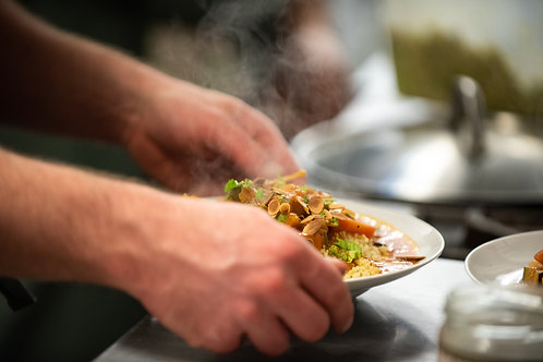 Vegetable & Chickpea Tagine (vegetarian) - Friday night dinner