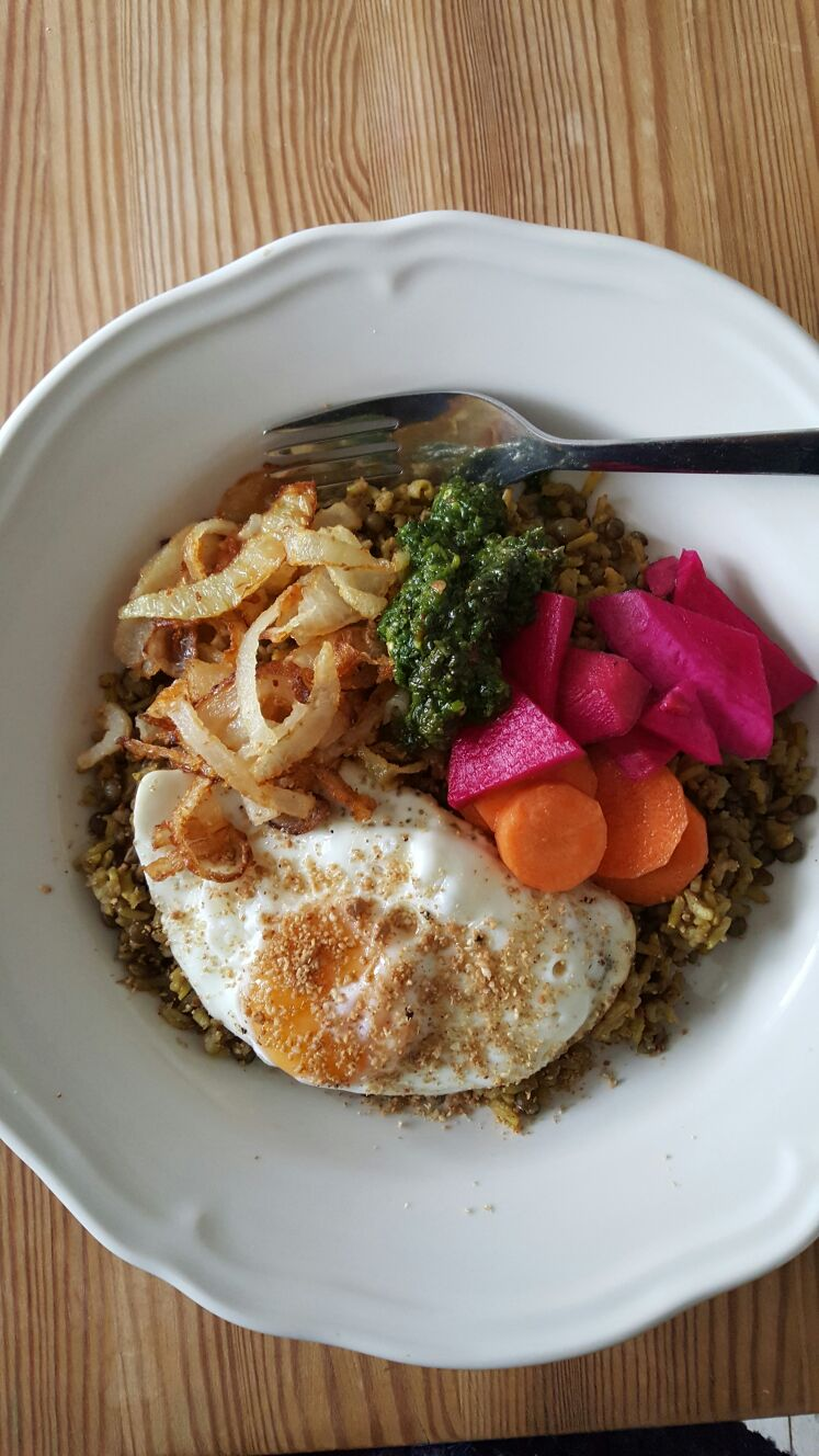 Middle Eastern Rice Bowl