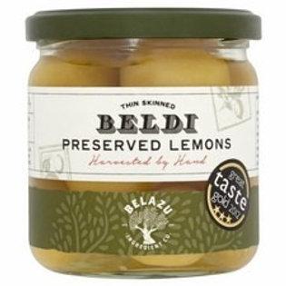 Balzu Beldi preserved lemons - thin skinned
