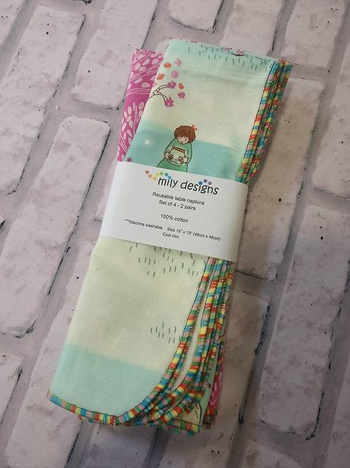 Mily Designs Napkins -2 pack