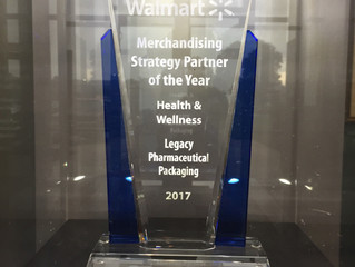Legacy Receives Walmart's Partner of the Year for 2017