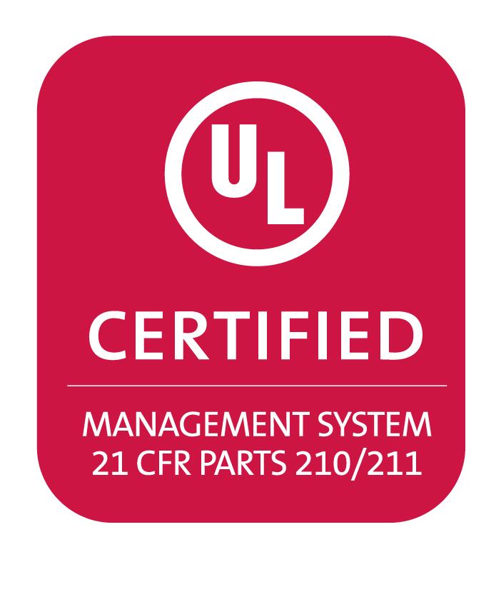 UL Management System 21 CFR 210/211