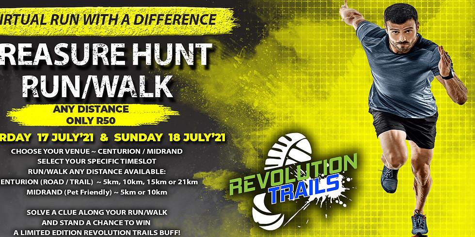 Midrand Virtual Treasure Hunt Run/Walk