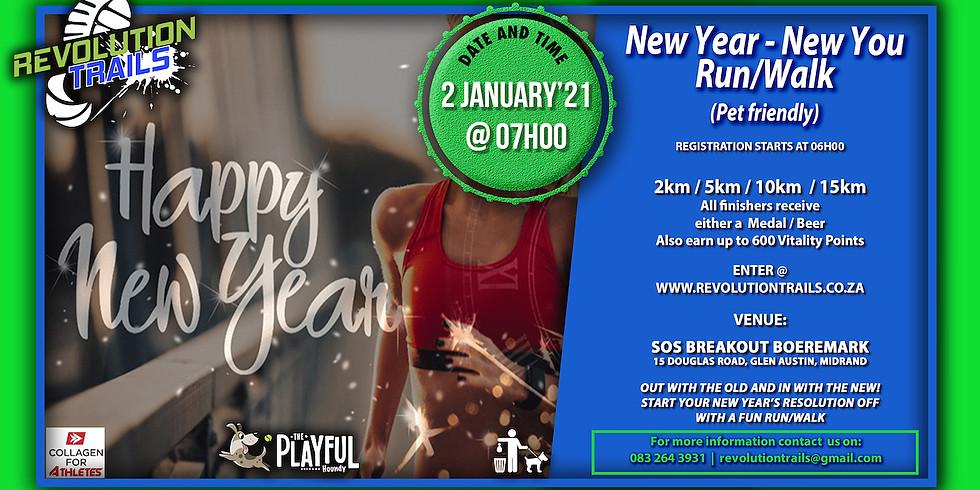 New Year - New You Trail Run/Walk