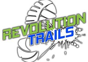 Revolution Trails logo Final White shado