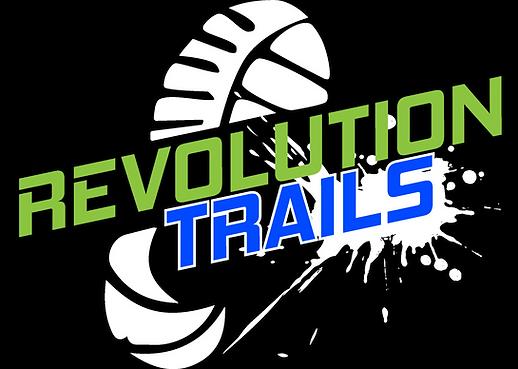 Revolution Trails logo Final White shado