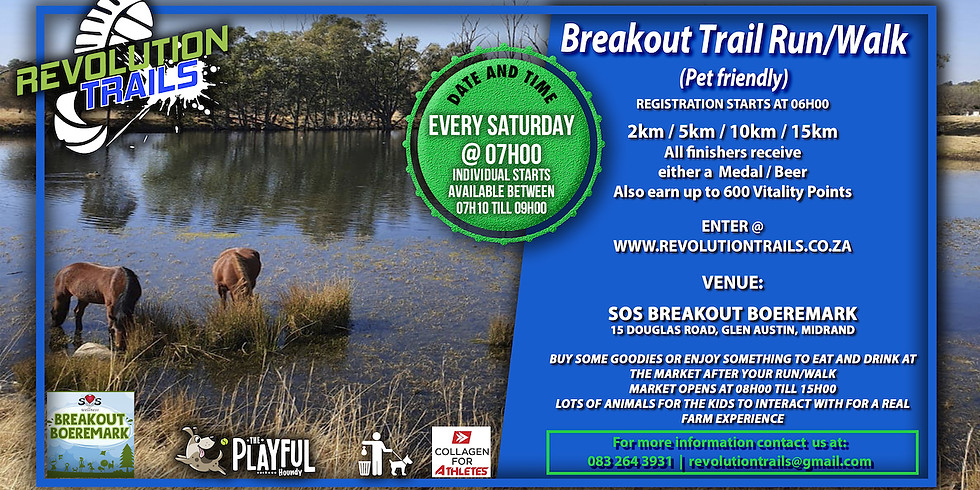 Breakout Trail Run/Walk