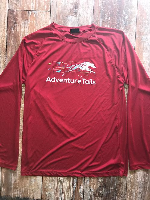 AdventureTails Long sleeve T-Shirt - Red