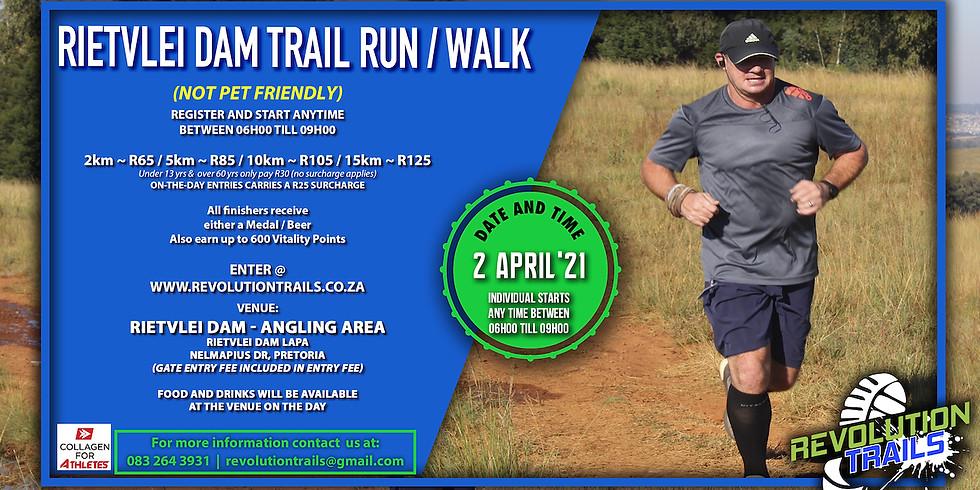 Rietvlei Dam Trail Run/Walk