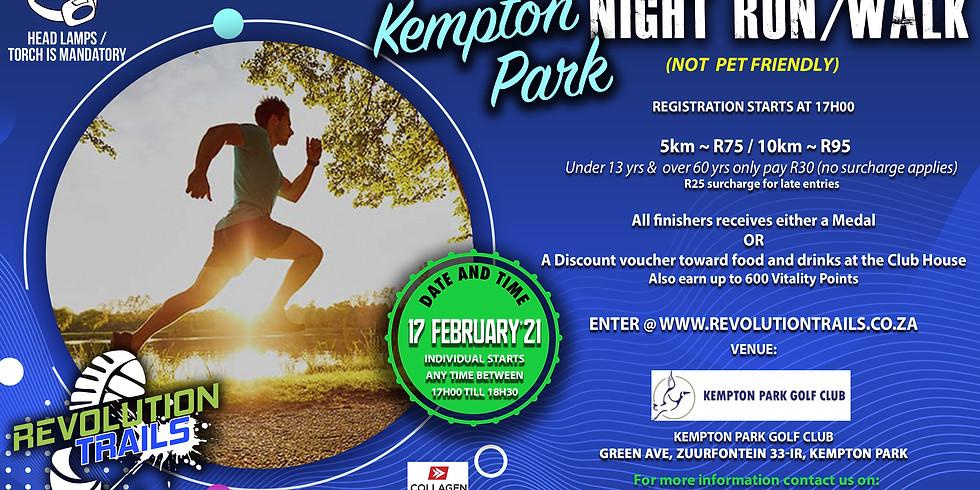Kempton Park Night Run/Walk