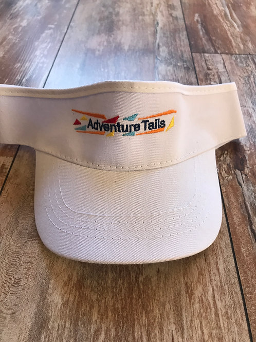 AdventureTails Visor - White