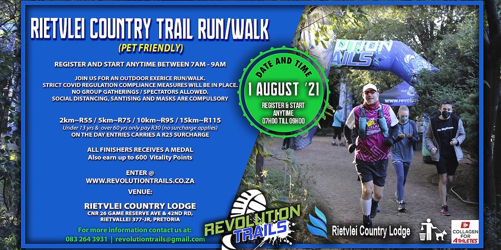 Rietvlei Country Exercise Run/Walk