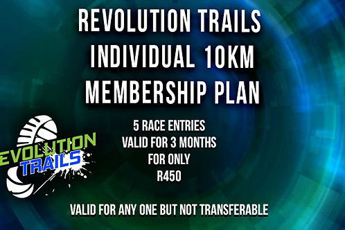 Individual 10km Membership Plan
