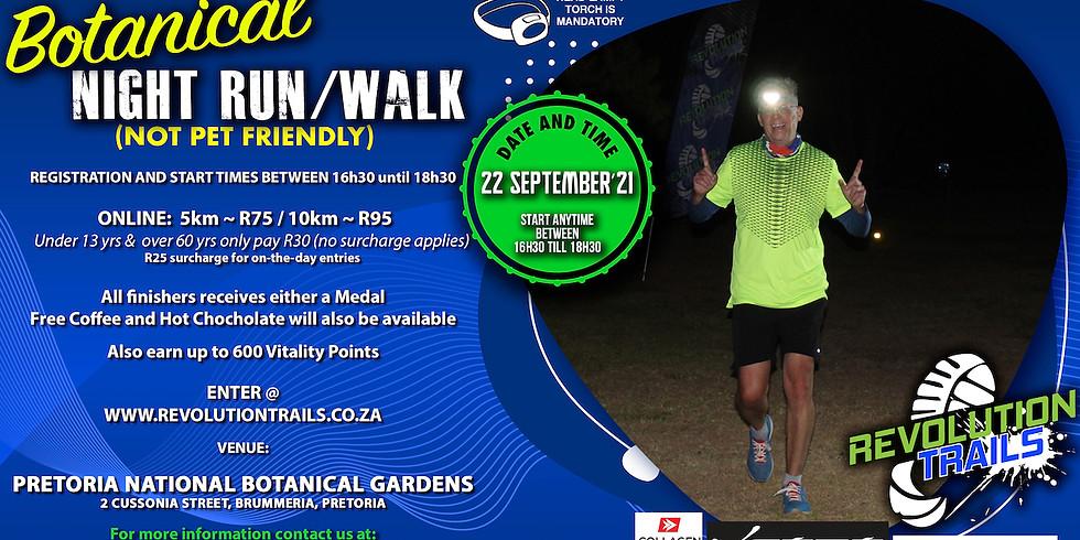 Botanical Night Run/Walk