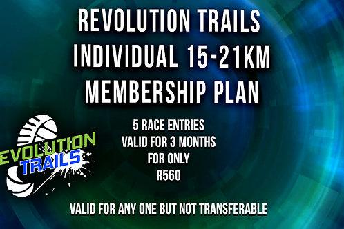 Individual 15km / 21km Membership Plan