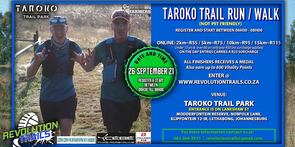 Taroko Trail Run/Walk