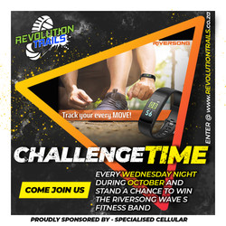 October Fitness band challenge