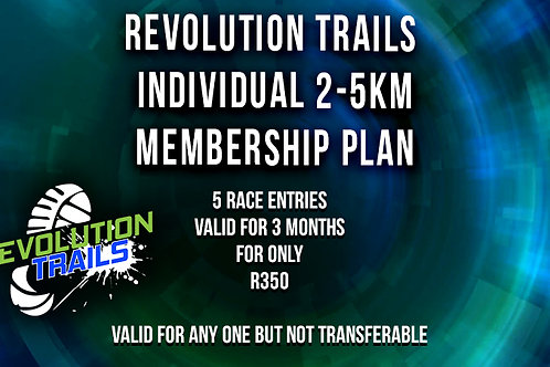 Individual 2km / 5km Membership Plan