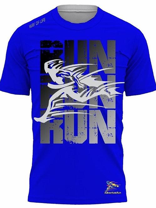 AdventureRun T-shirt -Blue