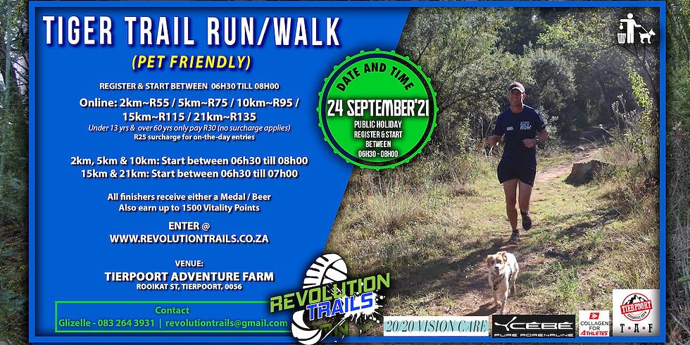 Tiger Trail Run/Walk