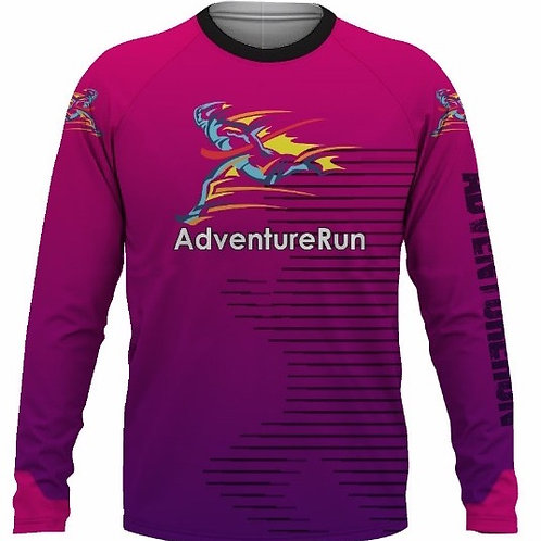 AdventureRun Long Sleeve T-Shirt - Pink