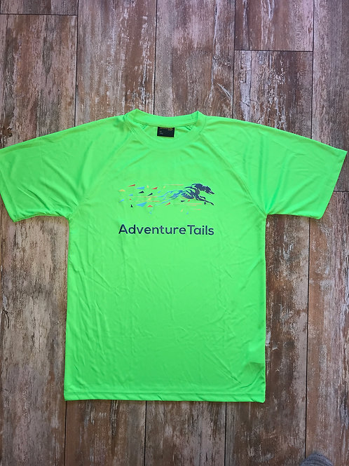 AdventureTails T-Shirt - Bright Green