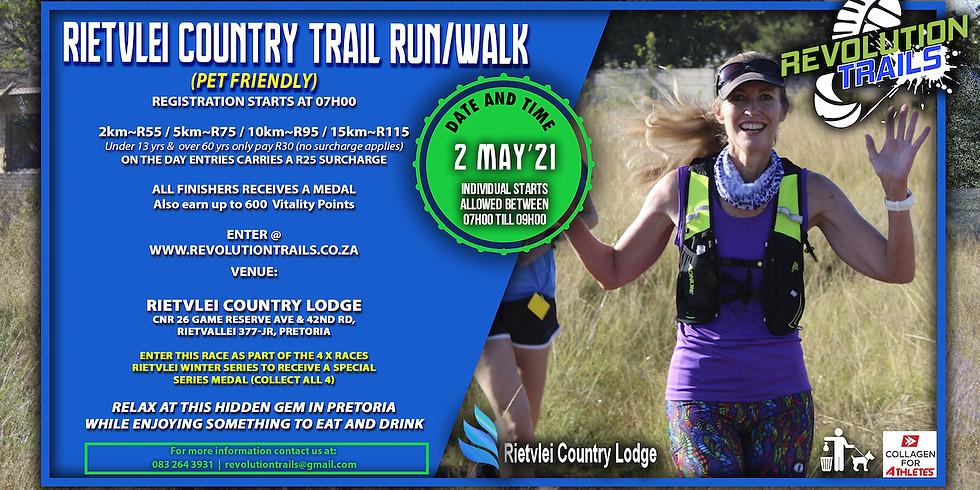 Rietvlei Country Trail Run/Walk