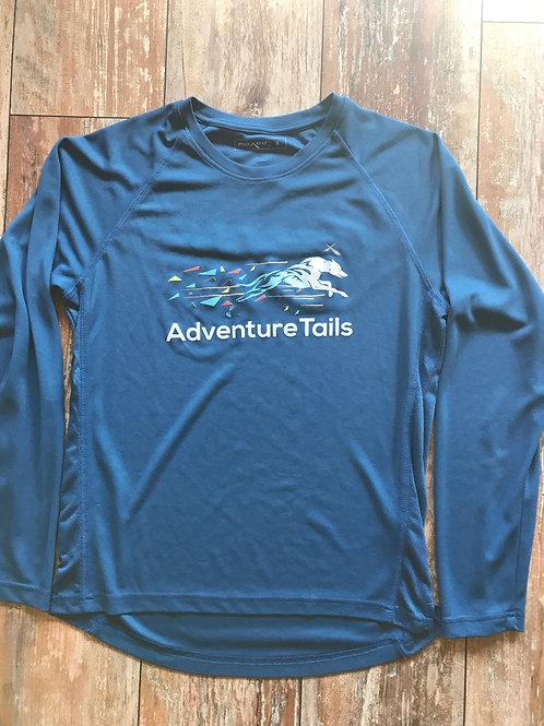 AdventureTails Long sleeve T-Shirt - Dark Blue