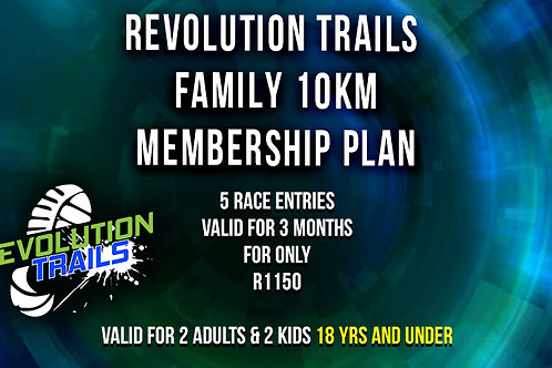 Family 10km Membership Plan
