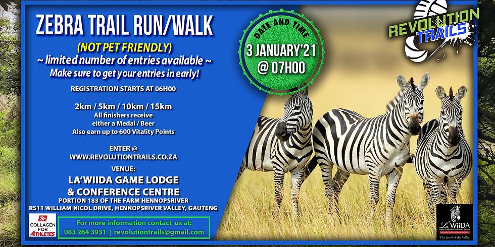 Zebra Trail Run/Walk