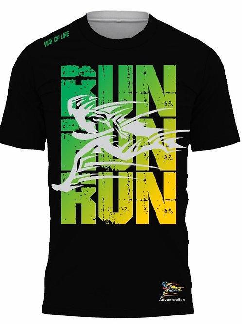 AdventureRun T-shirt - Black