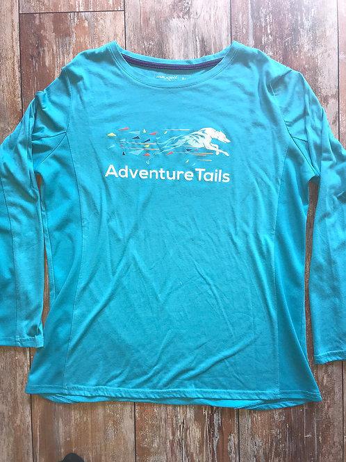 AdventureTails Long sleeve T-Shirt - Light Blue