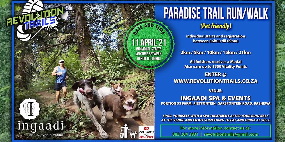 Paradise Trail Run/Walk