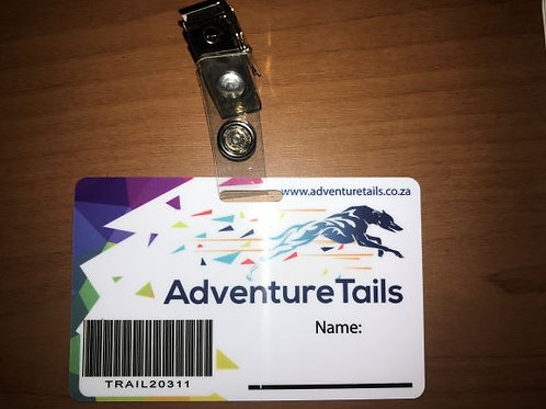 Personal Adventure Timing Card