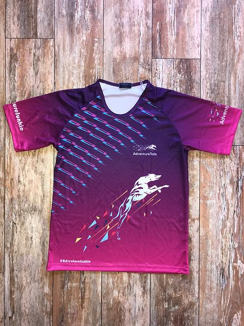 AdventureTails Running T-Shirt - Purple